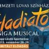 Gladiátor musical szereposztás és jegyek itt!