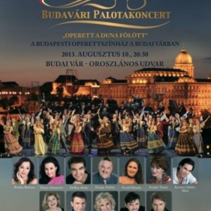 Palotakoncert a budai Vár Oroszlános udvarában a Budapesti Operettszínház sztárjaival! Jegyek itt!