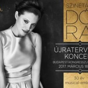 Szinetár Dóra Újratervezés lemezbemutató koncert 2017-ben - Jegyek itt!