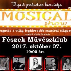 Musical show a Fészek klubban - Jegyek itt!