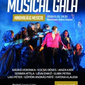Mindhalálig musical gála 2018-ban Sopronban a Novomatic Arénában - Jegyek itt!