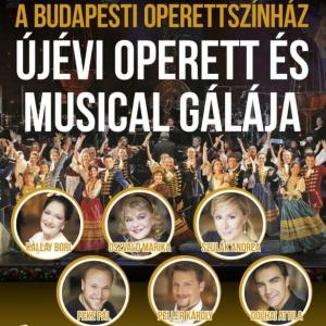 Újévi Operett és Musical Gála Szegeden 2018-ban az Oeprettszínház sztárjaival! Jegyek itt!