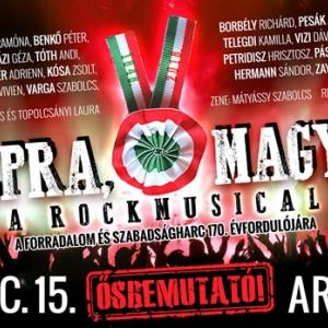 Talpra magyar rockmusical az Arénában - Jegyek és szereplők itt!