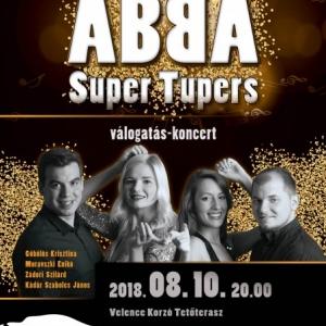 Super Tupers: ABBA válogatás - koncert a VíziSzínházban! NYERJ 2 JEGYET!