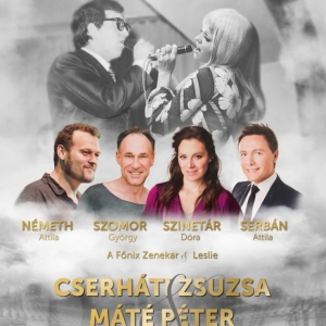 Ráadás Cserháti Zsuzsa és Máté Péter emlékkoncert 2019-ben Budapesten - Jegyek itt!