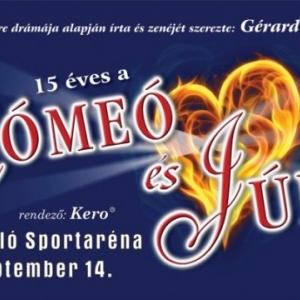 15 éves Rómeó és Júlia musical az Arénában! Jegyek itt!