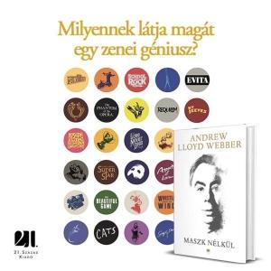 Andrew Lloyd Webberről jelent meg könyv magyar nyelven!
