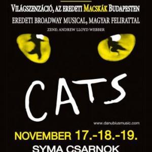 Cats musical az eredeti Macskák a SYMA Csarnokban - Jegyek itt!