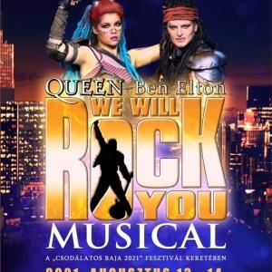 We Will Rock You Queen musical Baján a Szentháromság téren - Jegyek itt!
